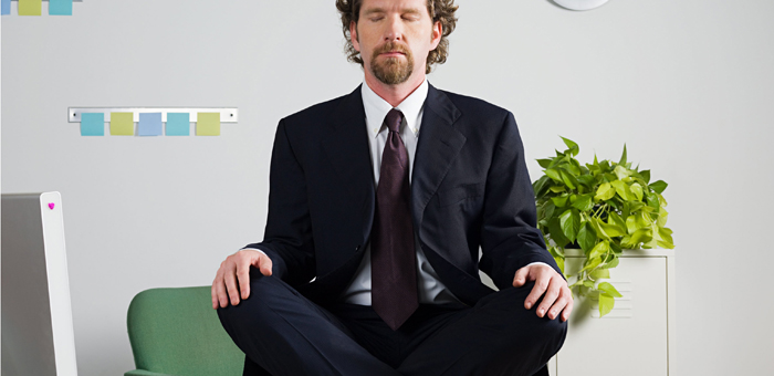 Homme qui médite